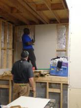 Working on the basement